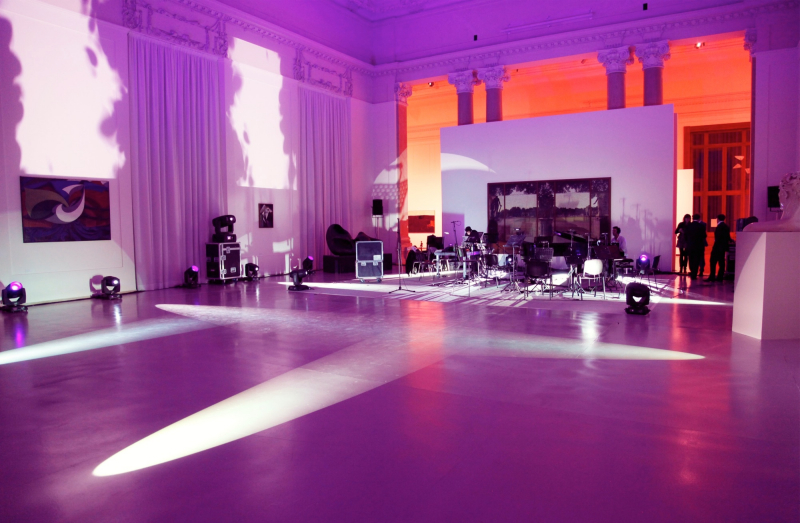 Live @ National Gallery of Modern Arts – Rome